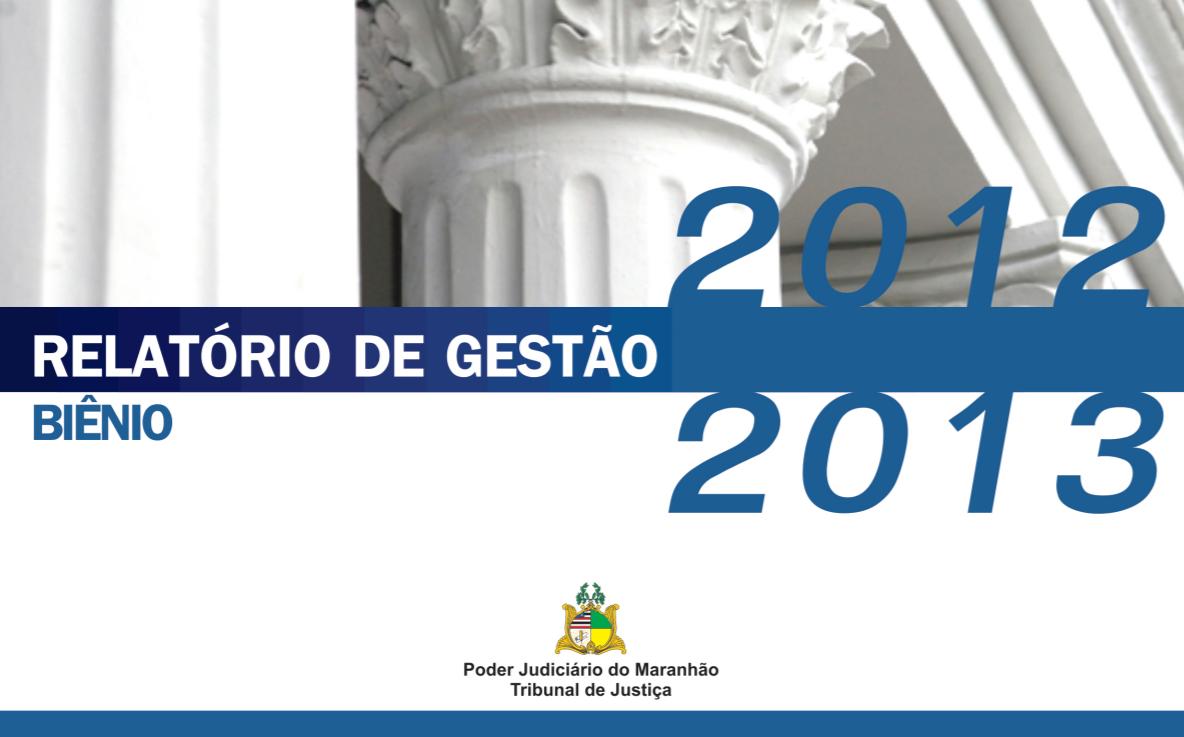 CAPA RELATÓRIO 2012 2013