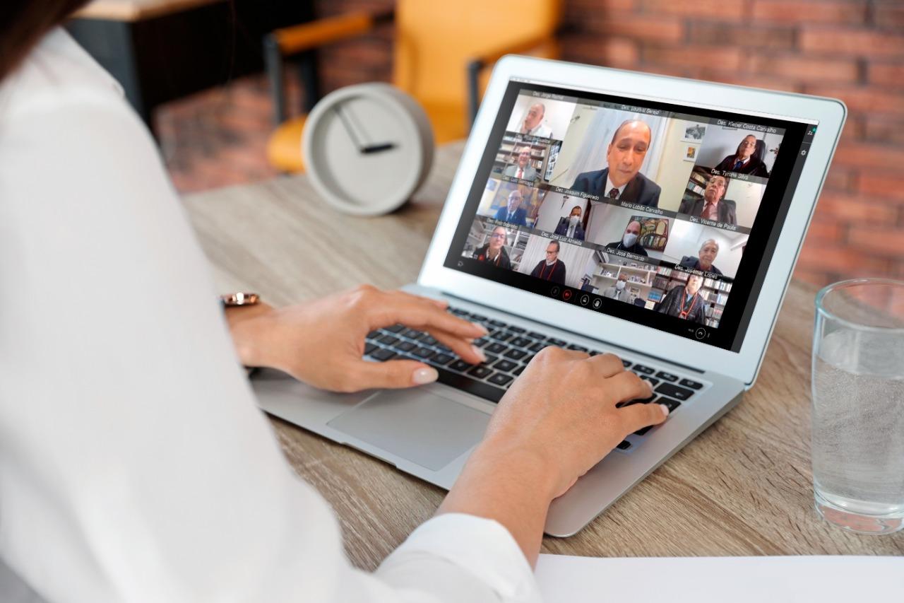 TECNOLOGIA | TJMA atinge a marca de mais de 6 mil videoconferências apenas em julho