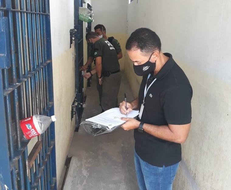 TJMA realiza inspeções em unidades prisionais do Estado
