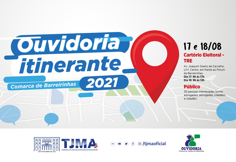 Ouvidoria Itinerante atenderá o município de Barreirinhas