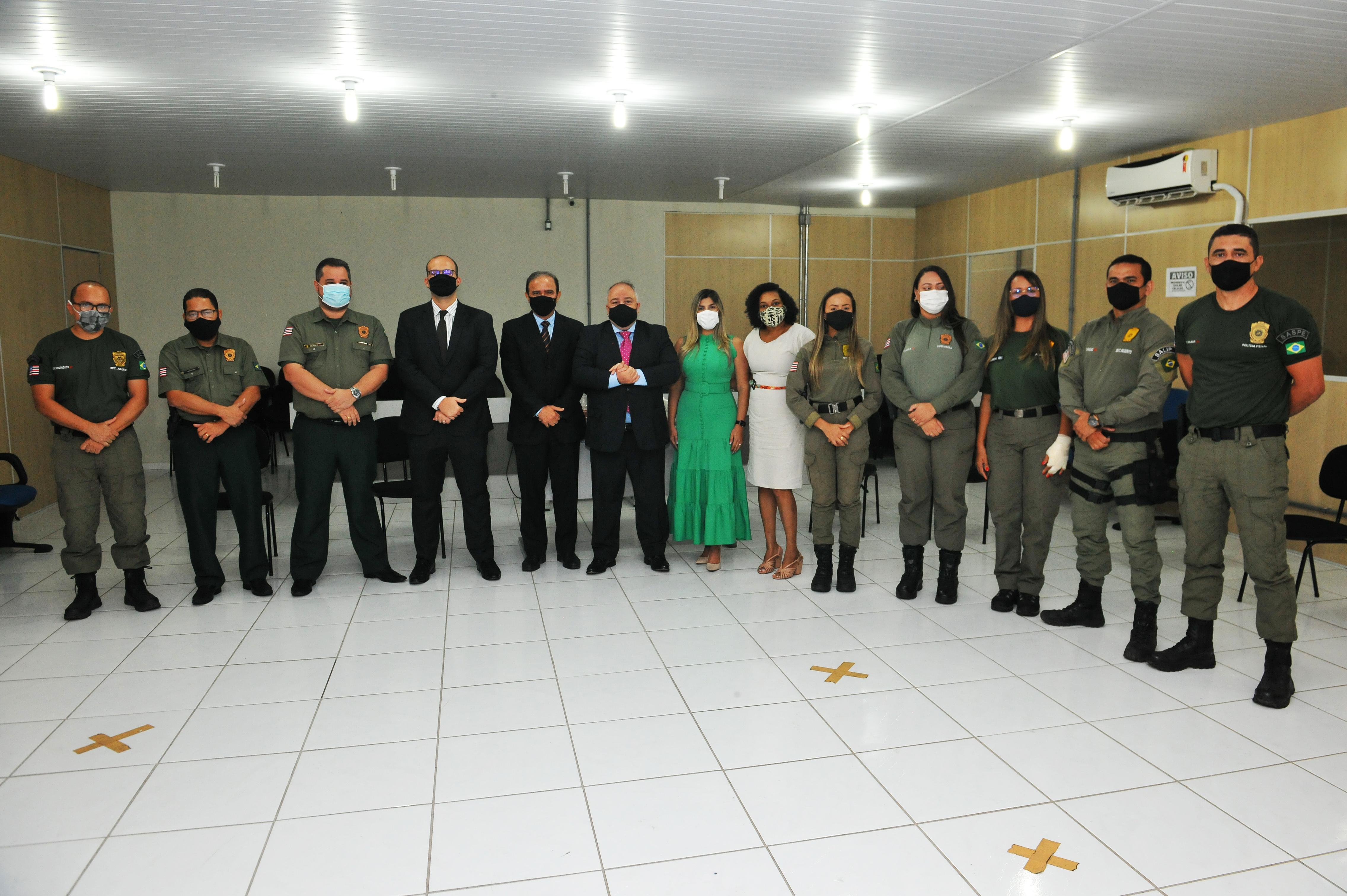CNJ VISITA INSTALAÇÕES DA CIAPIS