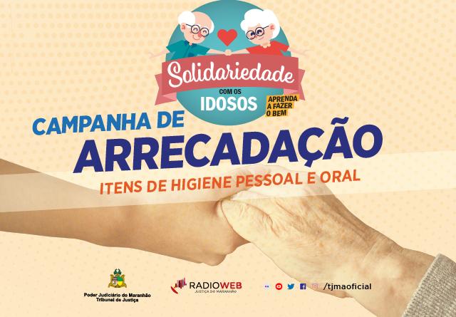 Campanha de doação aos idosos