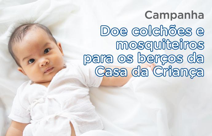 Bebê - doação de colchões
