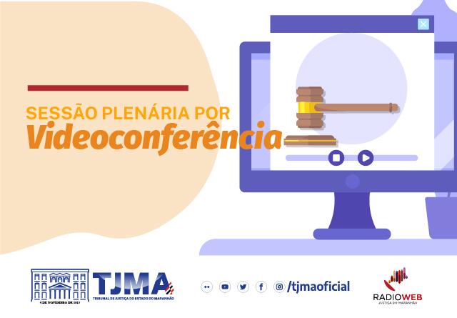 Sessão Plenária por videoconferência