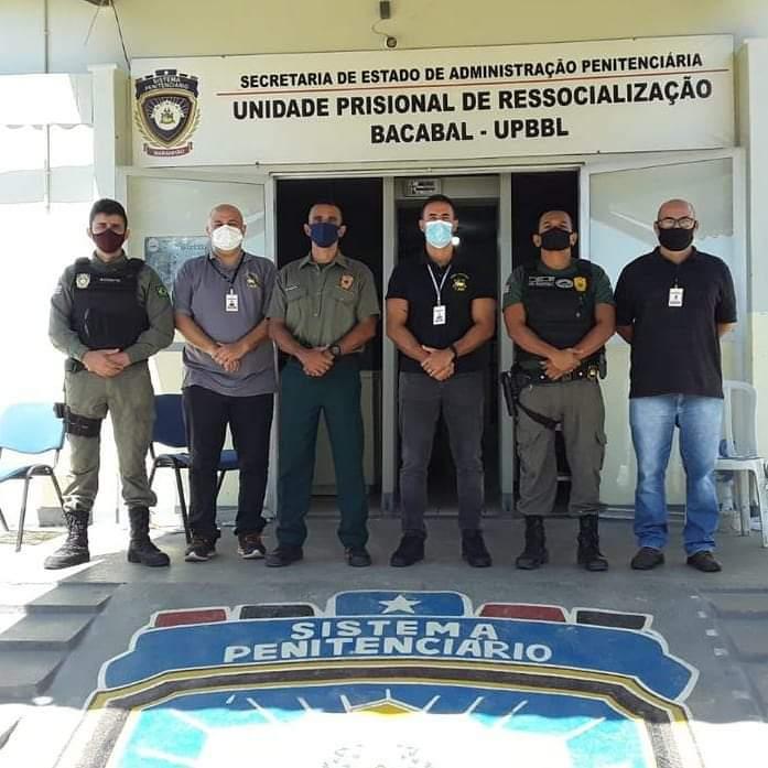 UMF do TJMA realiza inspeção nas unidades prisionais de Bacabal, Colinas, São João dos Patos e Bacabal