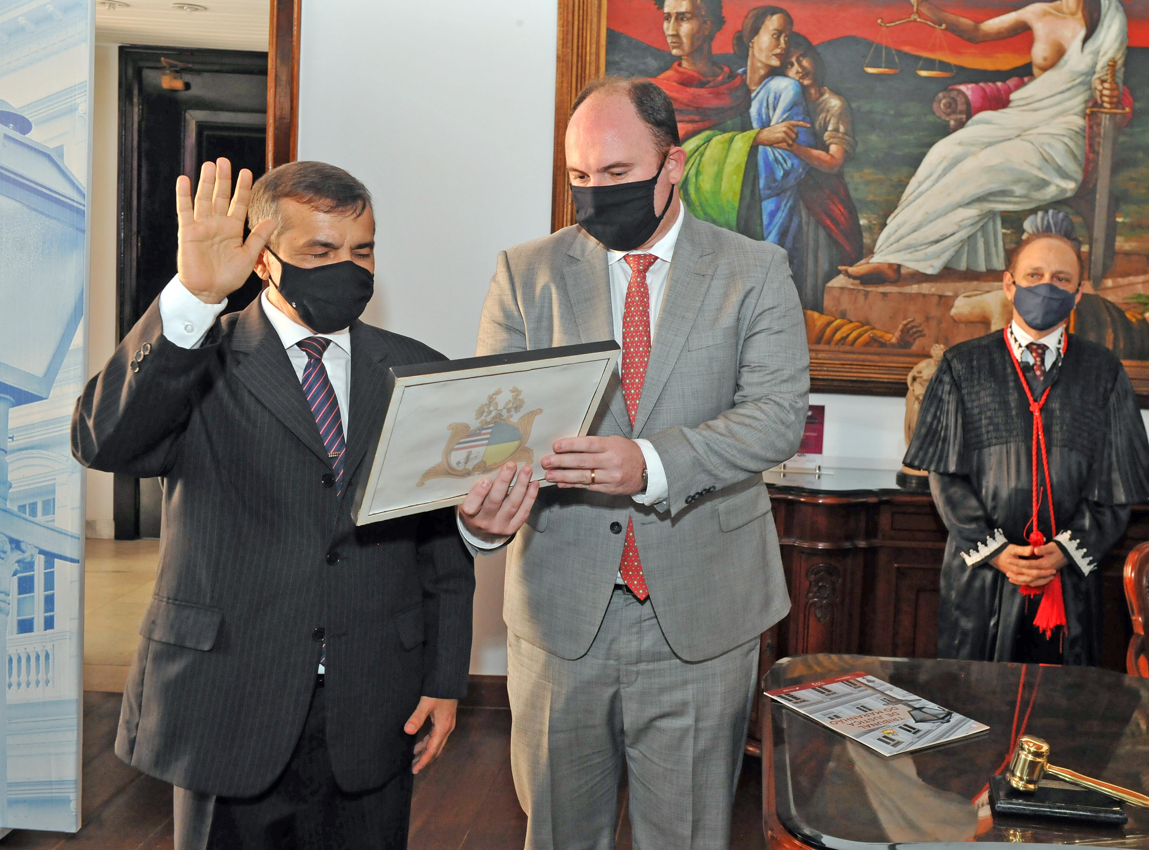 Posse desembargador José Gonçalo de Sousa Filho.