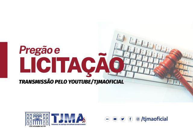 TJMA realiza pregão eletrônico nesta sexta (17)