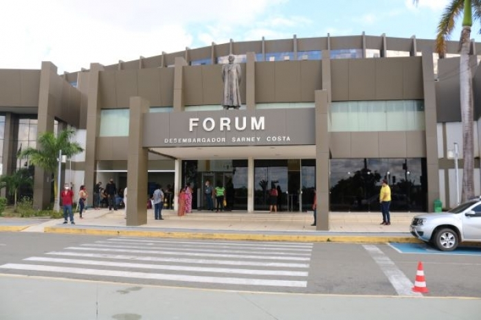 Fachada Fórum de São Luís