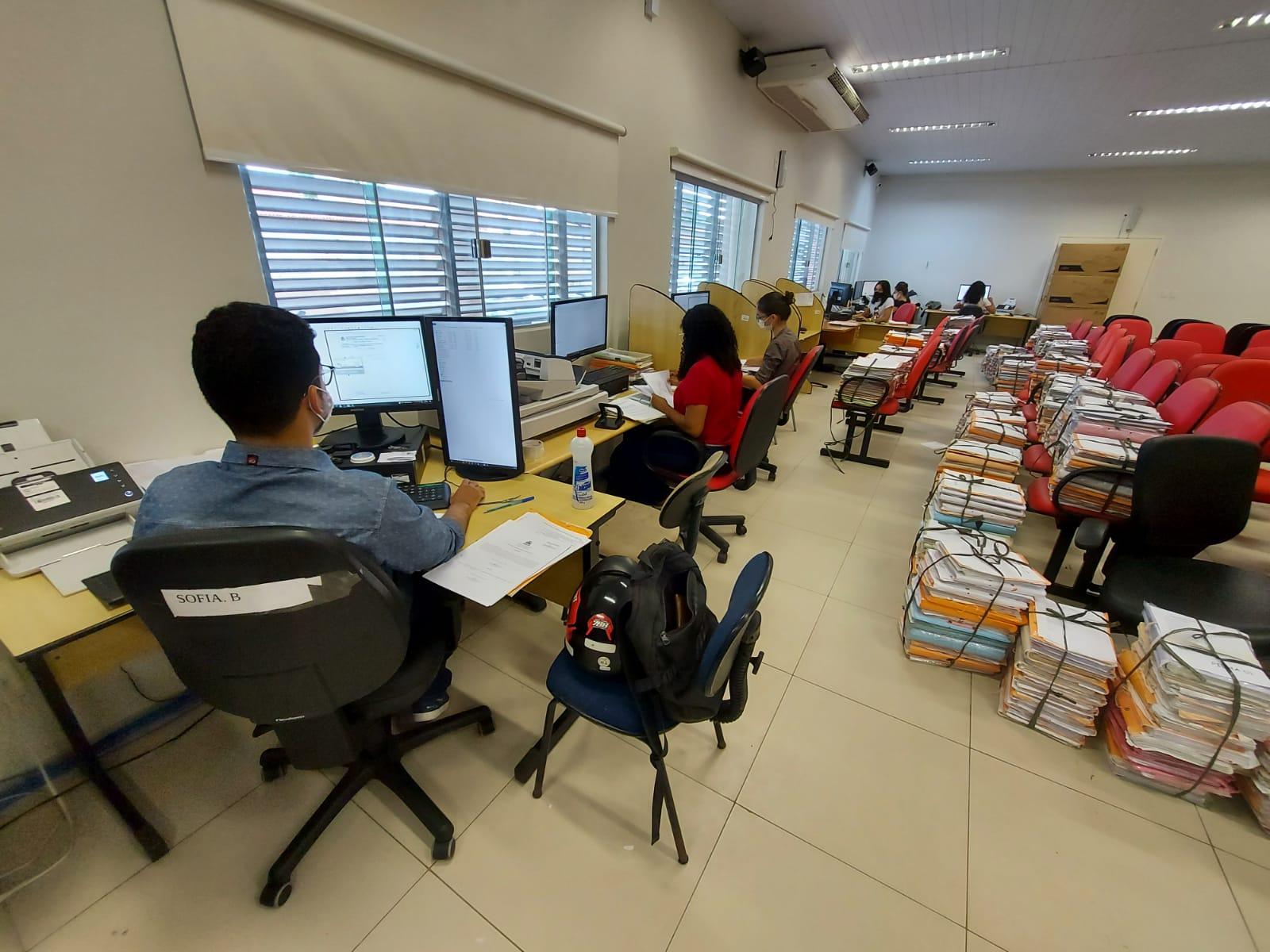 Central divulga números de processos cíveis digitalizados em parceria com OAB-Imperatriz