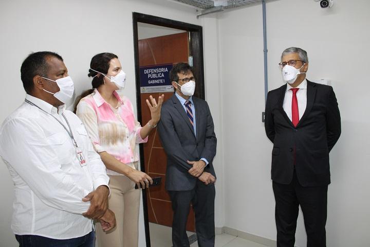 Corregedoria realiza visita técnica à Central de Inquéritos e Custódia de São Luís