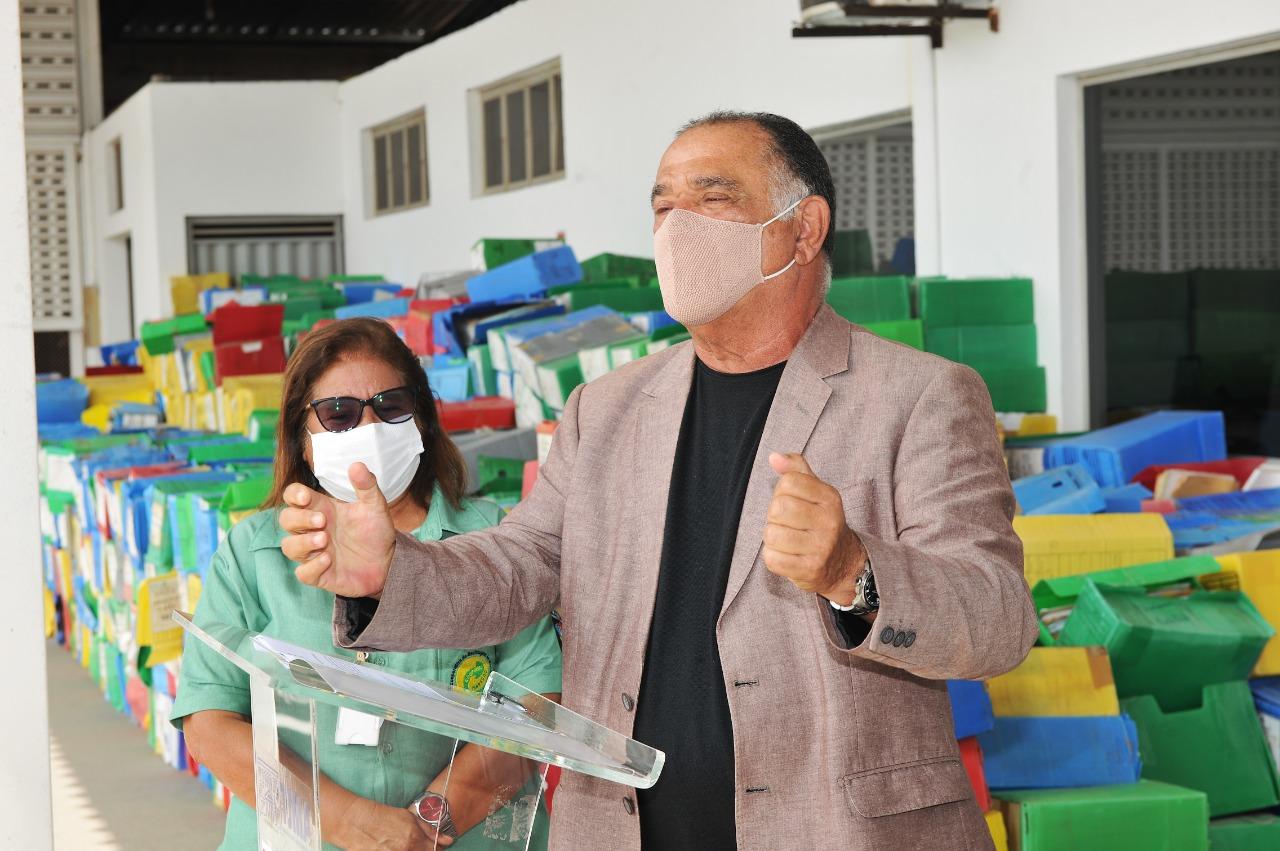 Judiciário realiza entrega de mais de 60 toneladas de material reciclável a cooperativa