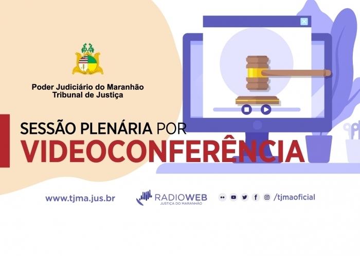 Ilustração Sessão Plenária por Videoconferência
