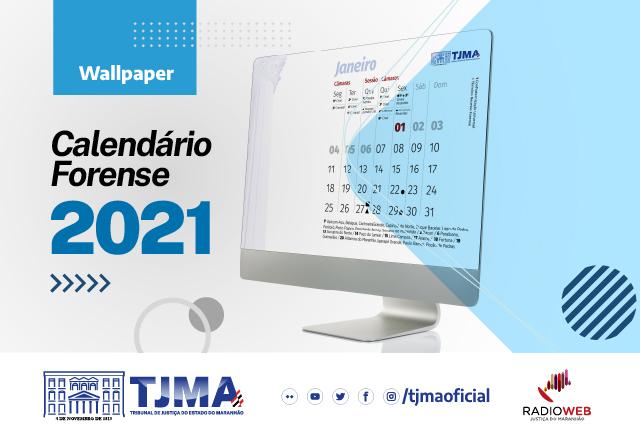 CALENDÁRIO FORENSE 2021 - CAPA