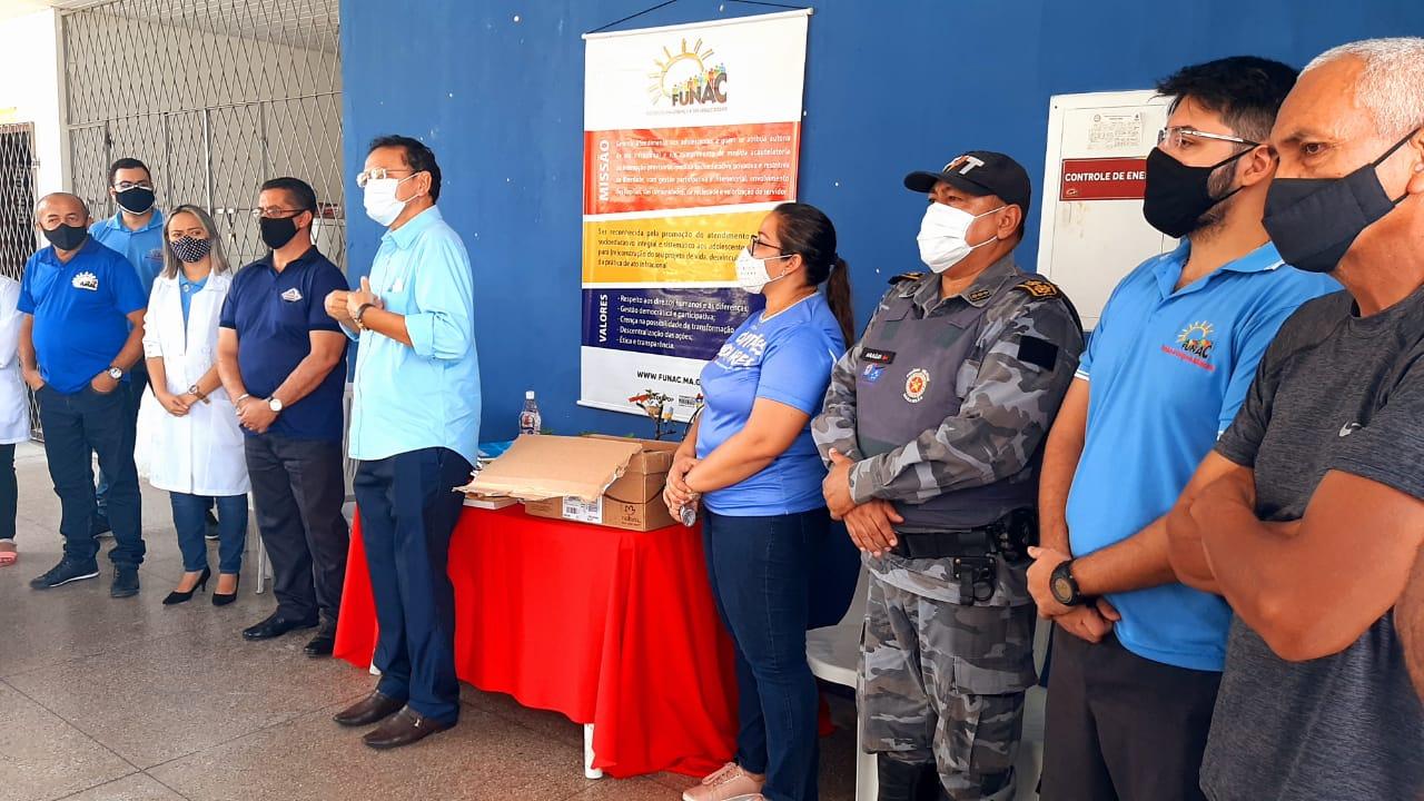 Judiciário de Timon entrega livros doados ao Centro Socioeducativo de Internação da Região dos Cocais