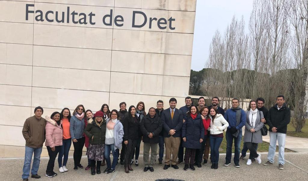 Mestrado na Universitat de Girona