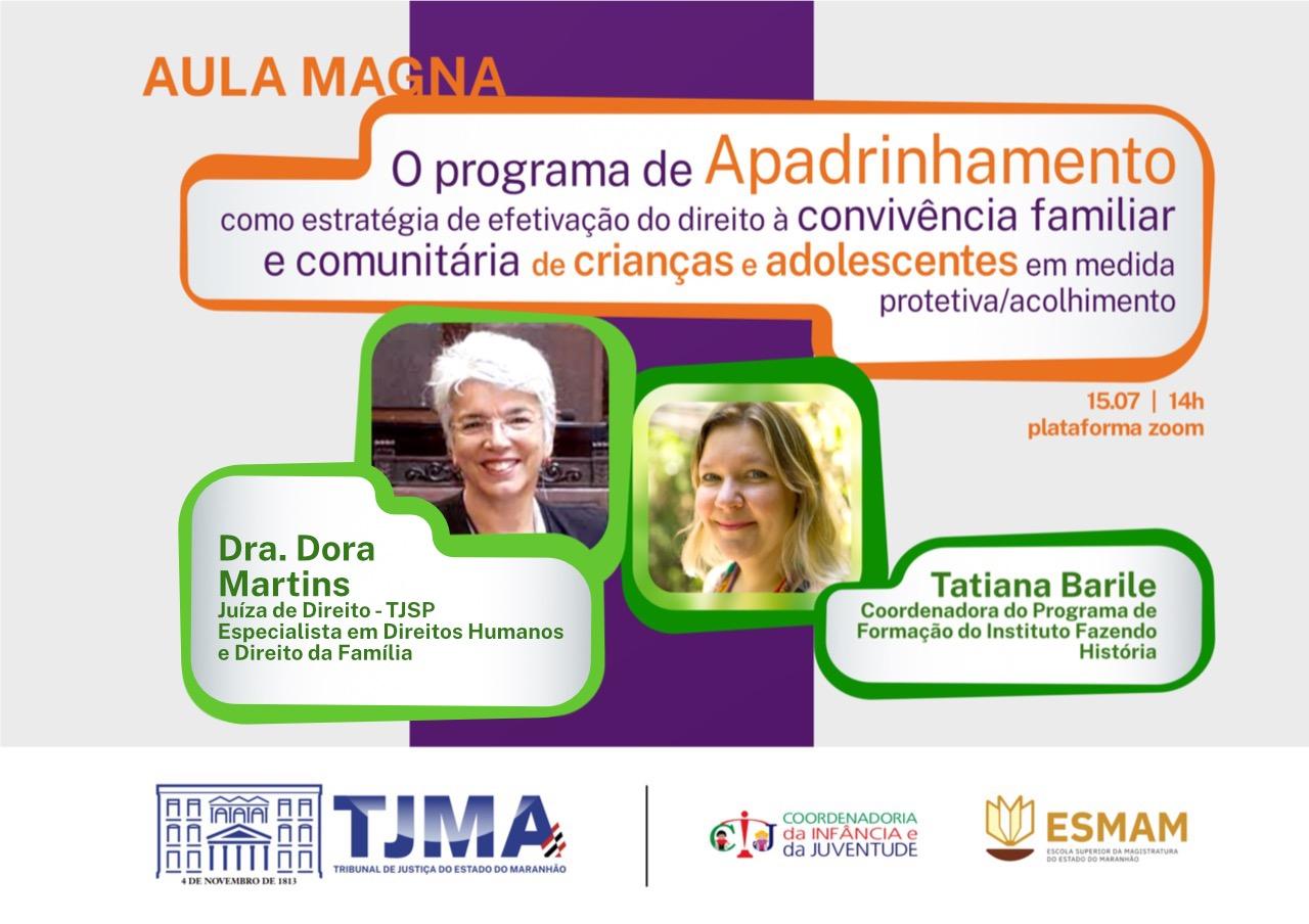 Aula Magna discutirá programa de apadrinhamento de crianças