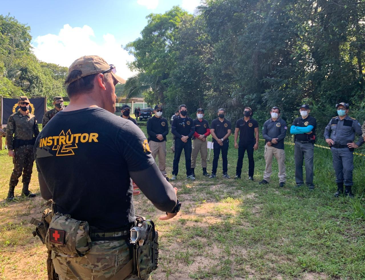 As aulas práticas ocorrem no 24º Batalhão de Infantaria de Selva (BIS)