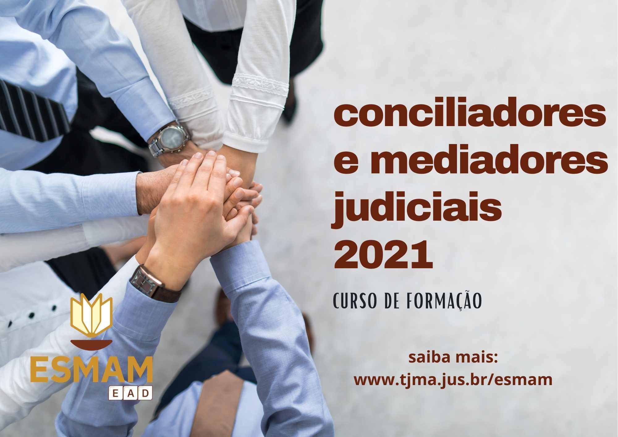 Resultado da seleção para o cursode formação de conciliadores judiciais