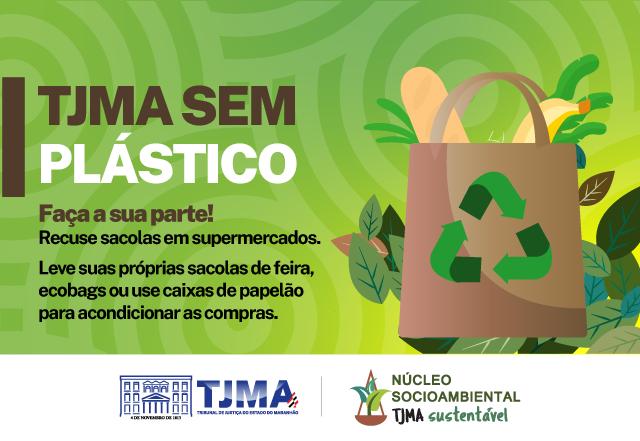 TJMA incentiva o não uso de plástico