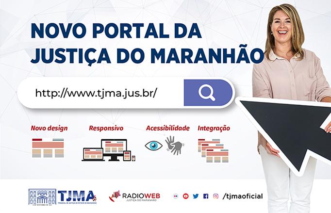 TJMA conclui migração de páginas para o novo Portal do Judiciário