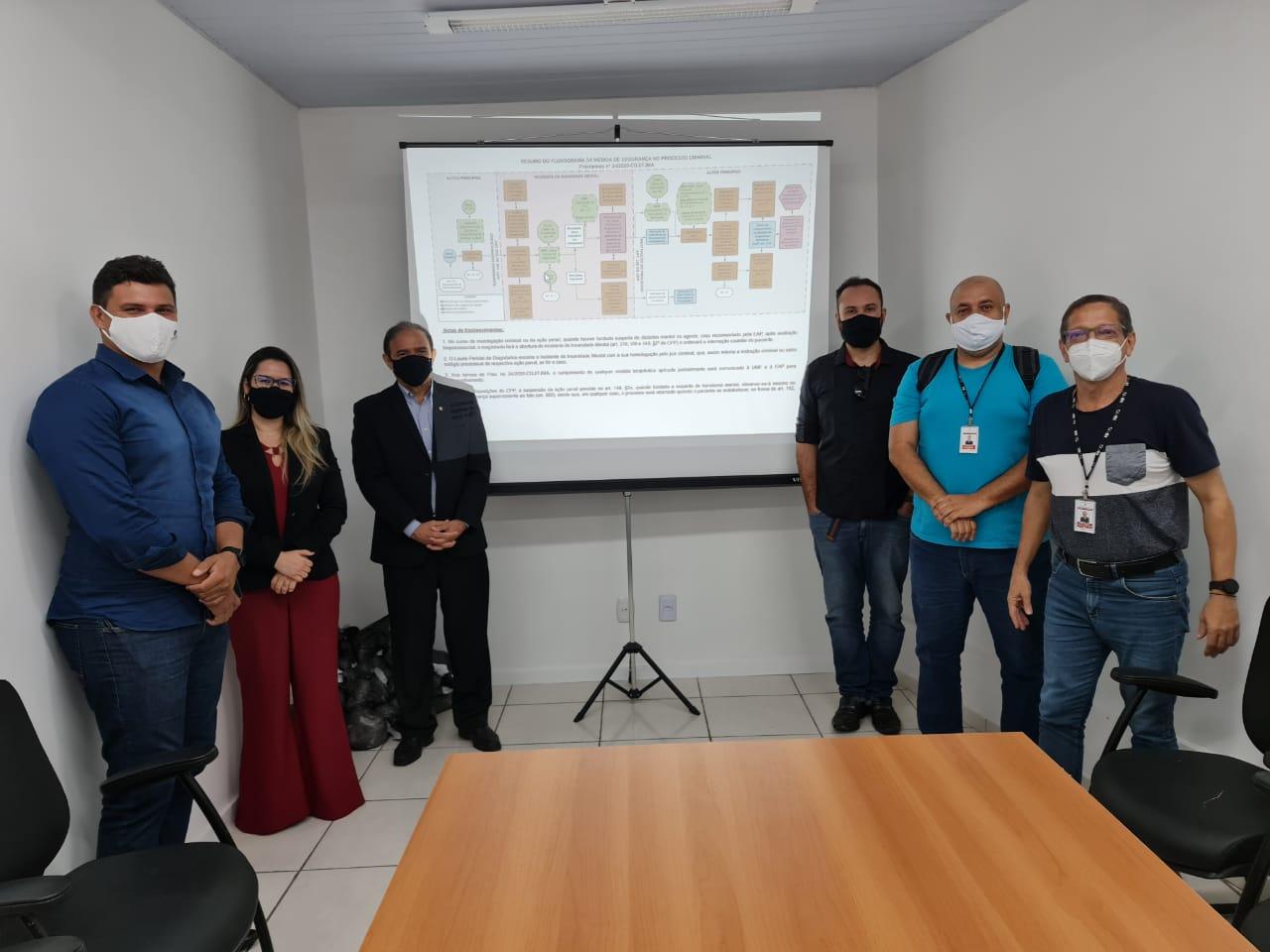 Unidade de Monitoramento Carcerário do TJMA lança novo fluxograma