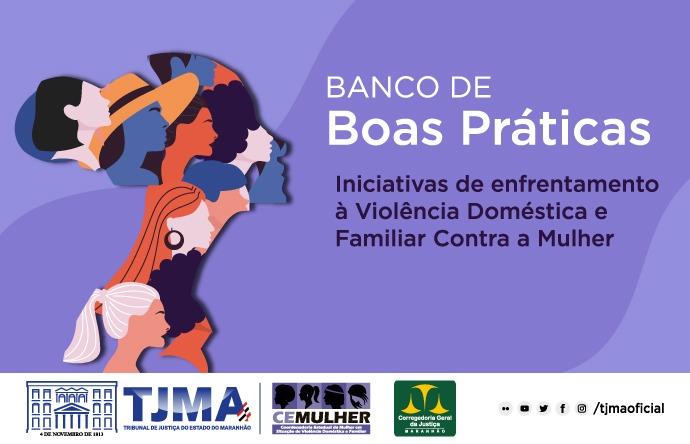 TJMA lança banco de boas práticas frente à violência contra mulher
