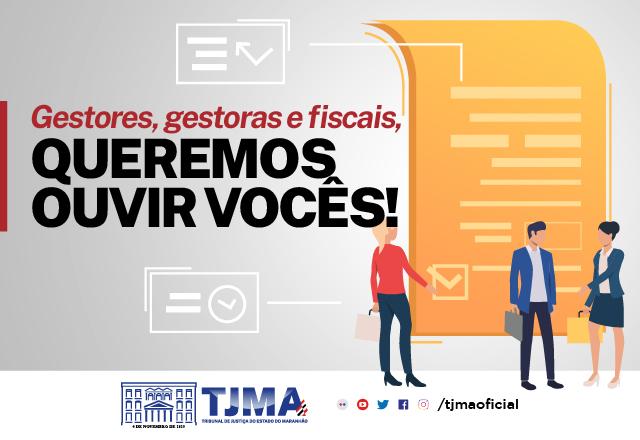 Pesquisa interna sobre gestão fiscal de contratos vai até dia 30