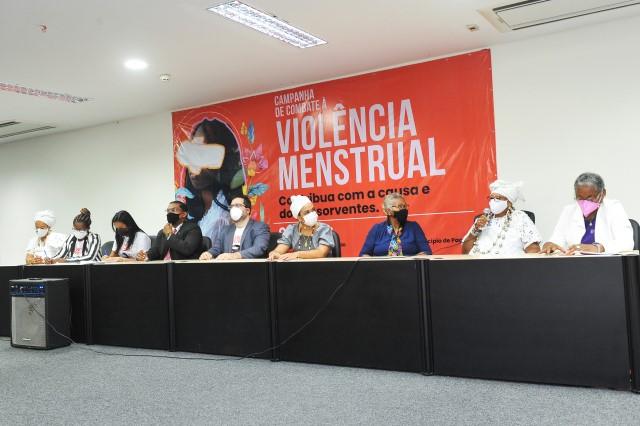Lançada campanha de Combate à Violência Menstrual com apoio do TJMA