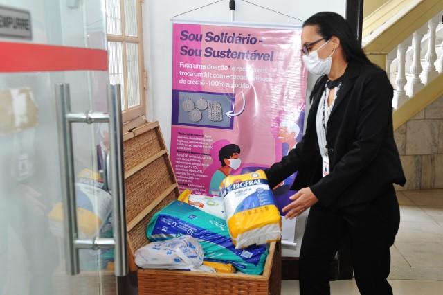 Campanha Sou Solidário - Sou Sustentável recebe doações até dia 30