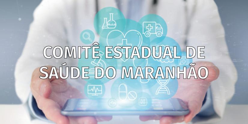Banner COMITÊ ESTADUAL DE SAÚDE DO MARANHÃO