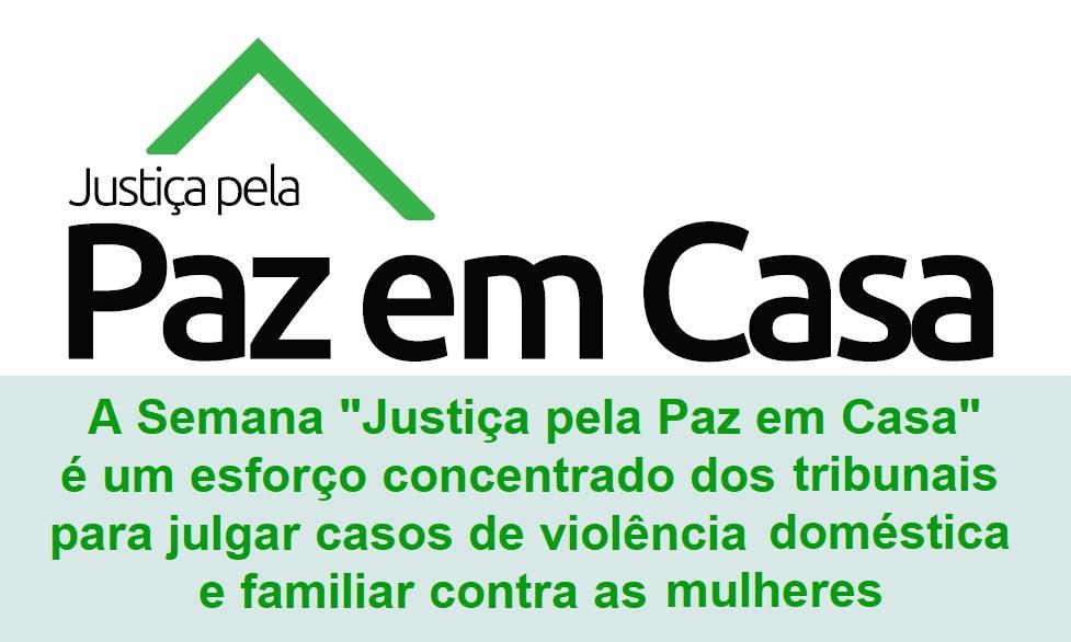 PROGRAMA NACIONAL JUSTIÇA PELA PAZ EM CASA